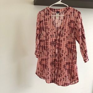 Patagonia printed tunic top